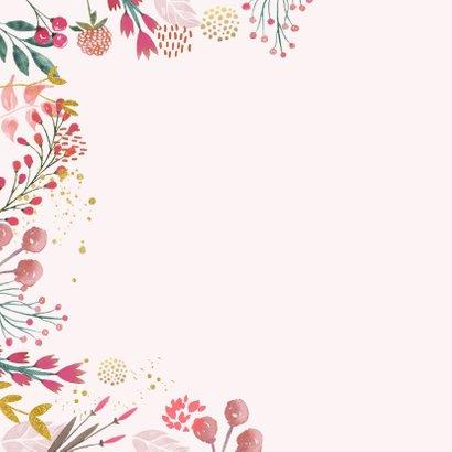 Vriendschapkaart voorjaarsbloemen 2