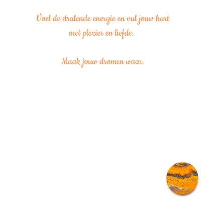 Vriendschapskaart mandala met jaspis amethist en bloemen 3