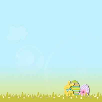 Vrolijk Pasen met paashaas 3