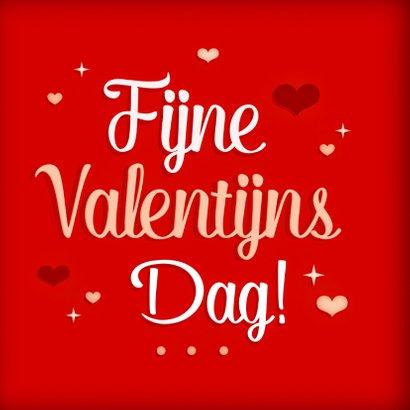 Vrolijke valentijnskaart hartjes 2