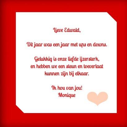 Vrolijke valentijnskaart hartjes 3