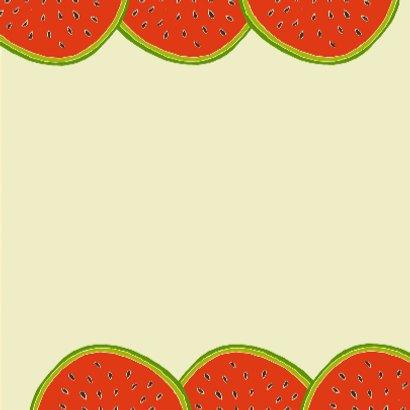 Watermeloen verjaardag 3