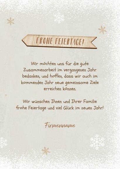 Weihnachtskarte Firma Holz-Weihnachtsbaum 3