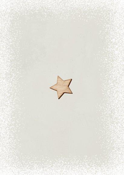 Weihnachtskarte Firma Holz-Weihnachtsbaum Rückseite