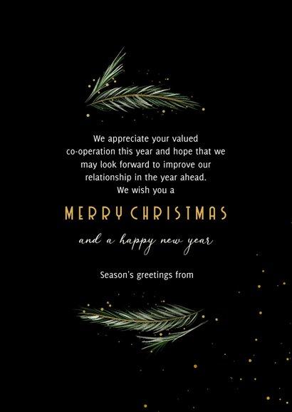 Weihnachtskarte Firma international Weihnachtsbaum 3