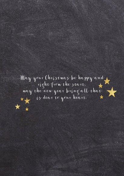 Weihnachtskarte Foto mit Sternchen 2