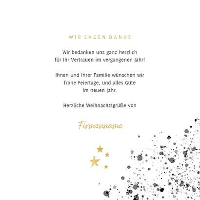 Weihnachtskarte geschäftlich Handlettering Merry Christmas 3