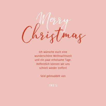 Weihnachtskarte Handschuhe 'Be together' 3