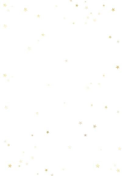 Weihnachtskarte mit Sternen 365 neue Chancen für 2021 Rückseite