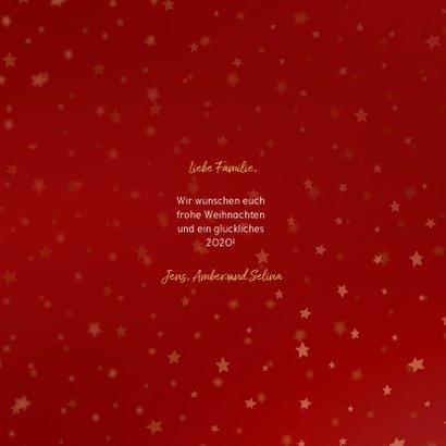 Weihnachtskarte mit vielen Fotos und Typografie 3