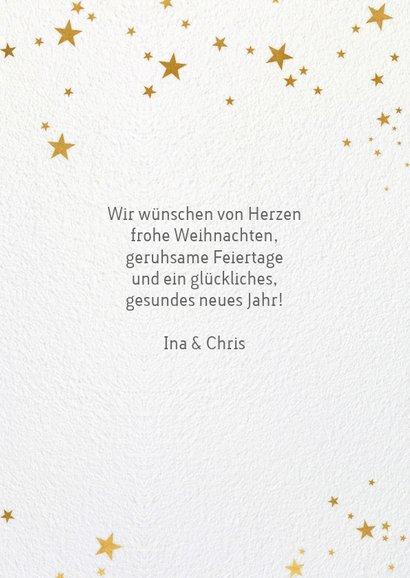 Weihnachtskarte mit Weihnachtskugel-Illustration 3