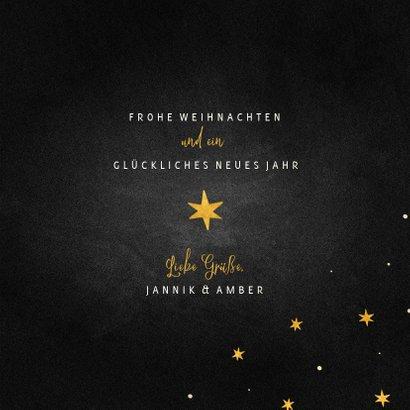 Weihnachtskarte Sterne international 3
