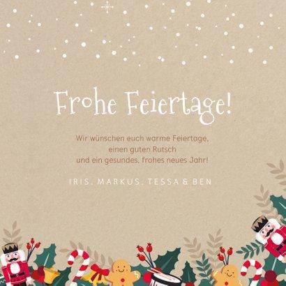 Weihnachtskarte Weihnachtsillustrationen 3