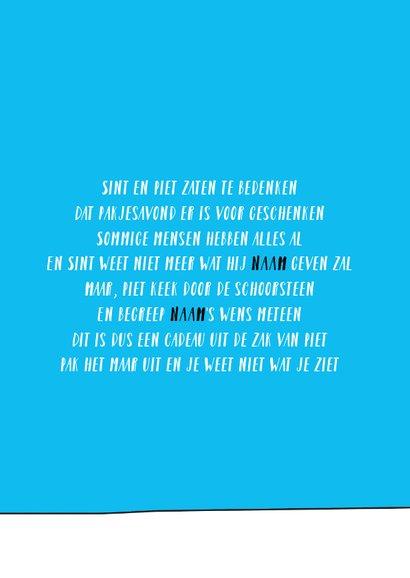 Welkom Sint + Piet 3