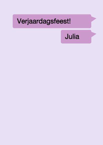 WhatsApp Uitnodiging Stoere meiden 3
