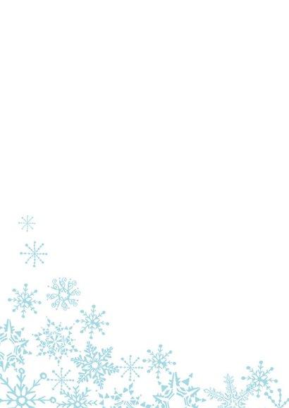 Winter Sneeuw kerst Vlok 2