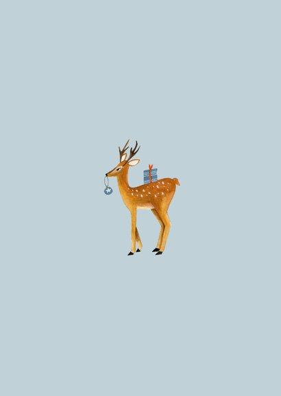 Winter wonderland dieren illustratie 2
