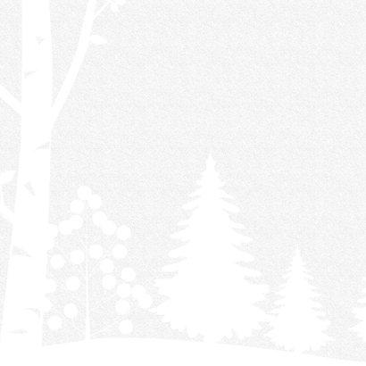 Winterse kerstkaart uitgeknipt papier 2