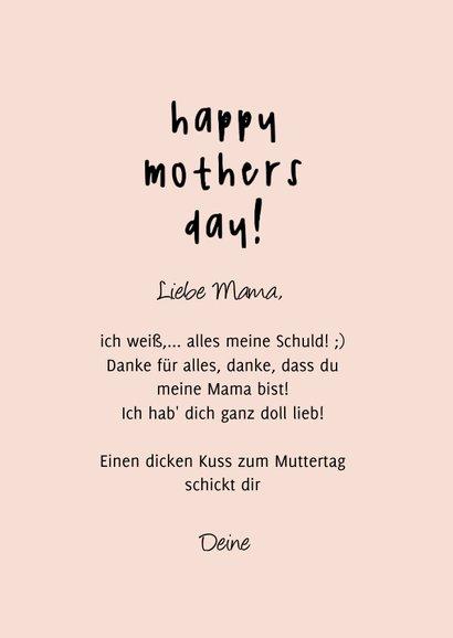 Witzige Muttertagskarte 'Boobs' 3
