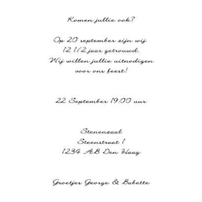 Woorden 12 1/2 Jubileum - BK 3