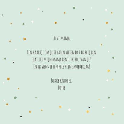World's greatest mom - gold - moederdag kaart 3