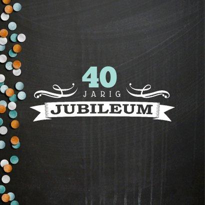 YVON jubileum divers krijtbord 2
