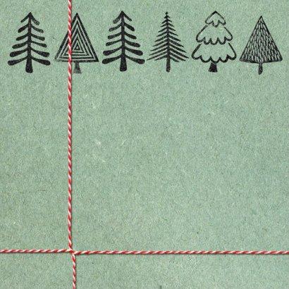 YVON kerstbomen stempel groen 2