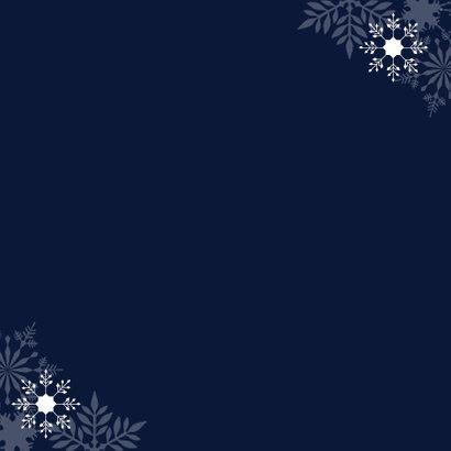 Zakelijke kerstkaart 2020 koperlook 2