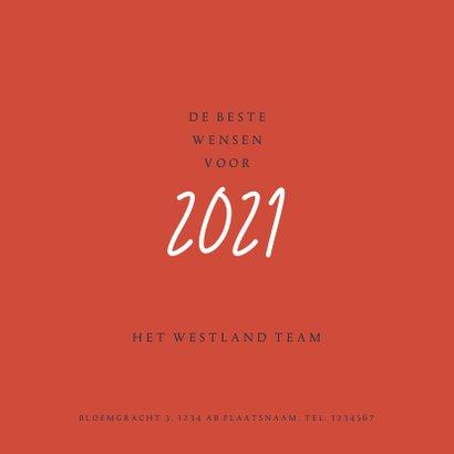 Zakelijke kerstkaart 2021 letters 3