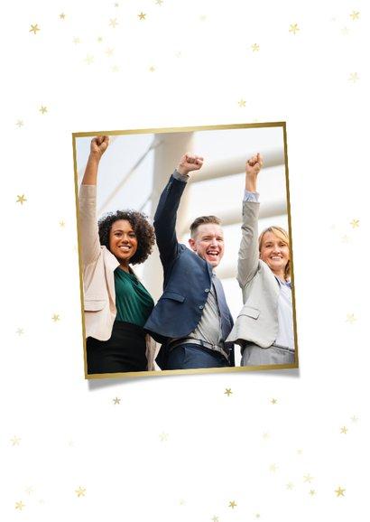 Zakelijke kerstkaart 365 nieuwe dagen met 365 nieuwe kansen 2