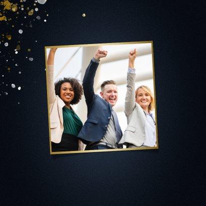 Zakelijke kerstkaart 365 nieuwe kansen voor 2021 stijlvol 2