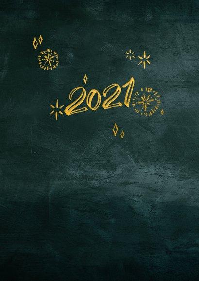 Zakelijke kerstkaart Cheers 2021 met glazen 2