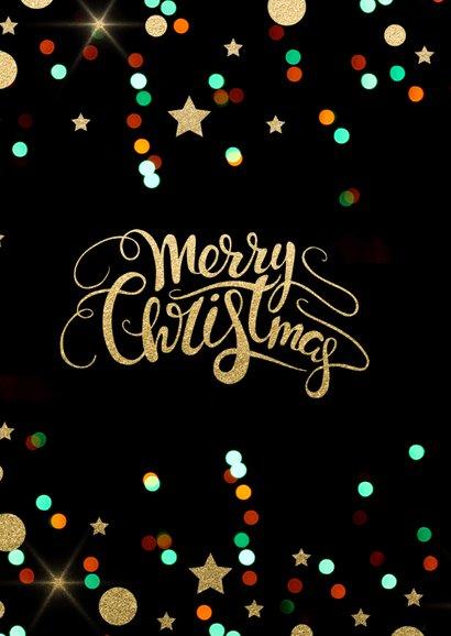 Zakelijke Kerstkaart - foto confetti 2