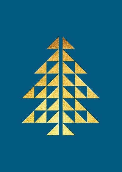Zakelijke kerstkaart grafisch goud foto merry chrismas 2
