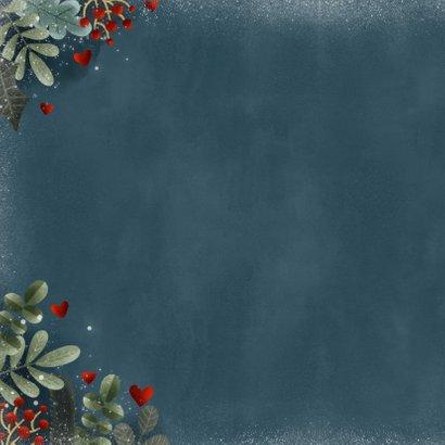 Zakelijke kerstkaart hartverwarmend & liefdevol 2