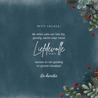 Zakelijke kerstkaart hartverwarmend & liefdevol 3