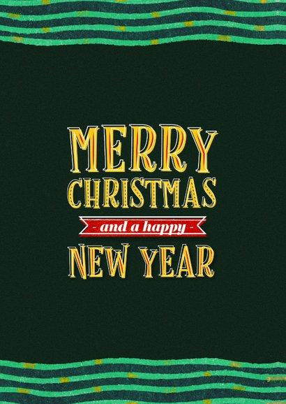 Zakelijke kerstkaart internationaal merry christmas typo 2