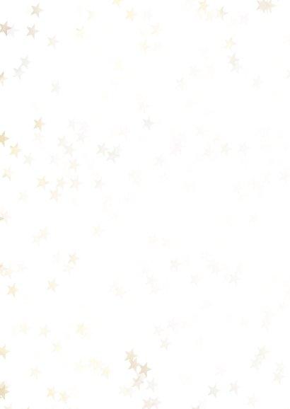Zakelijke kerstkaart kerstboom goud - BK 2