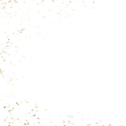 Zakelijke kerstkaart kerstster - Een gouden kerst 2