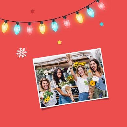 Zakelijke kerstkaart medewerkers kerstborrel corona jaar 2