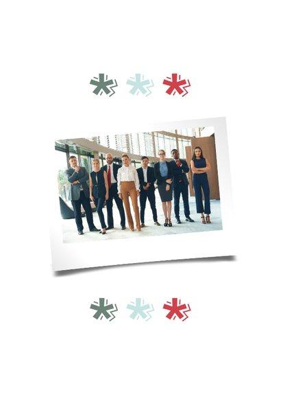 Zakelijke Kerstkaart - Merry Christmas - Modern 2