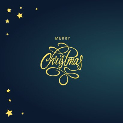 Zakelijke kerstkaart Merry Christmas 2