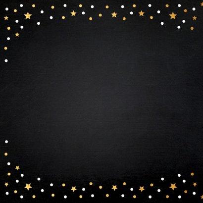 Zakelijke kerstkaart met gouden confetti  2