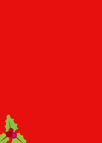 Zakelijke kerstkaart riem - SU 2