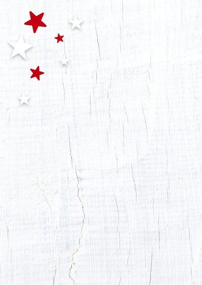 Zakelijke kerstkaart rode ster 2