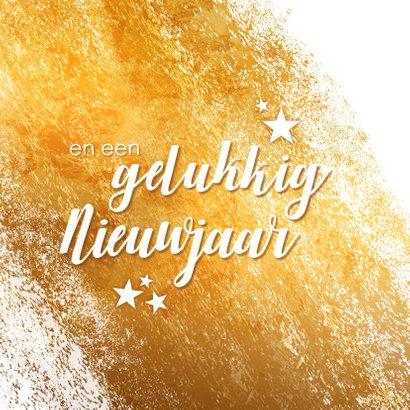 zakelijke kerstkaart sterren goud logo 2