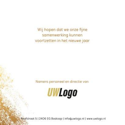 zakelijke kerstkaart sterren goud logo 3