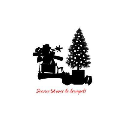 Zakelijke kerstkaart transport verhuizen en bezorgen 2