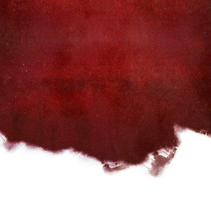 Zakelijke kerstkaart voor een schilder met verfroller  Achterkant