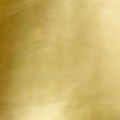 Zakelijke kerstkaart wit kader goud eigen foto  Achterkant